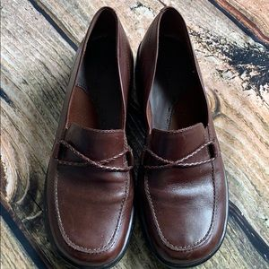 Clark's Brown Loafers